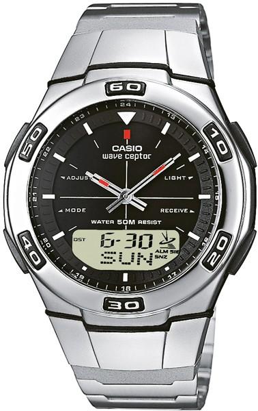 Rádiom riadené hodinky CASIO RADIO-CONTROLLED - CASIO WVA-105HDE-1AVER 6e9ea4bda0a